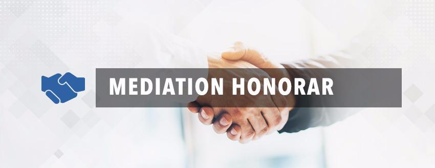 mediation honorar