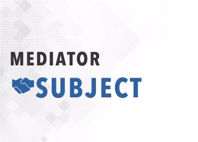 mediator subject