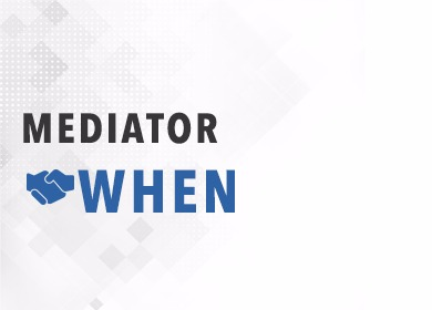 mediator when